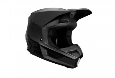 FOX V1 MATT BLACK HELMET