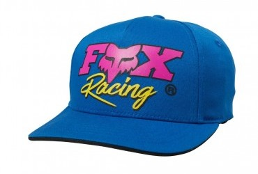 Fox Youth Castr Flexfit Hat Blue
