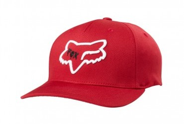 FOX YOUTH CZAR HEAD 110 SNAPBACK HAT RED