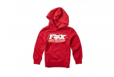 FOX YOUTH THROWBACK PULLOVER RED