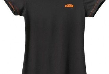 GIRLS RACING TEE BLACK