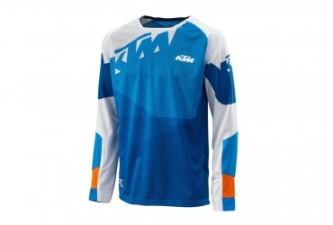 KTM GRAVITY FX  RACE SHIRT BLUE