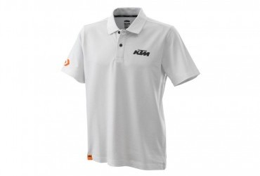 KTM 2020 Racing Polo White
