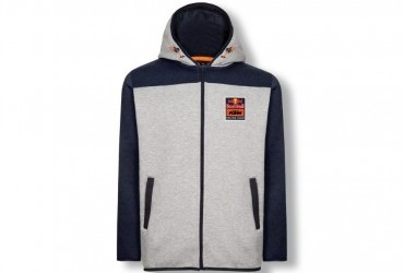 KTM RB RACING TEAM HOODIE GREY LIMITED EDITION