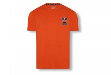 KTM RED BULL BACKPRINT TEE ORANGE