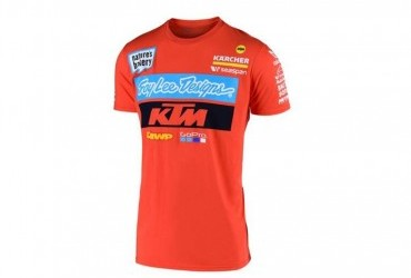 2020 KTM TLD TEAM TEE ORANGE