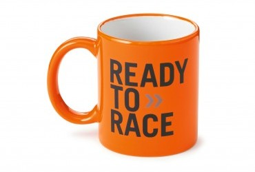 KTM Ready To Race Orange Mug
