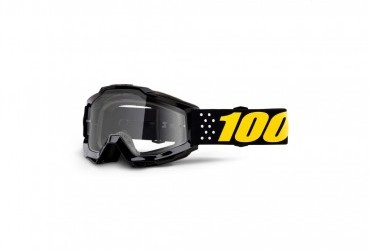 100% ACCURI PISTOL GOGGLE WITH CLEAR LENS
