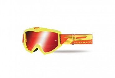 PRO GRIP ATZAKI GOGGLES 3201 YELLOW//MULTILAYERED LENS