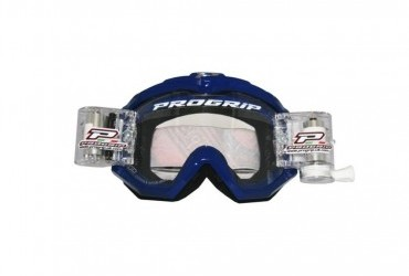 PRO GRIP RACE LINE GOGGLES 3201  48MM RNR ROLL OFF BLUE CLEAR