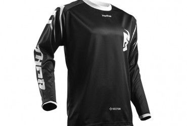 THOR SECTOR JERSEY BLACK
