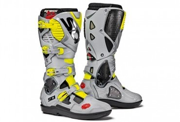 Sidi Crossfire 3 Srs Black Ash Fluro Yellow