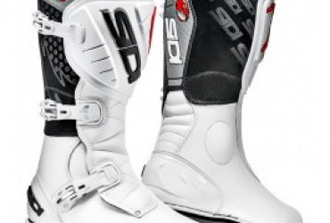 SIDI TRIAL BOOT WHITE
