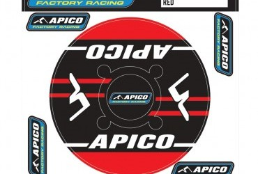 APICO TRIALS REAR SPROCKET STICKER