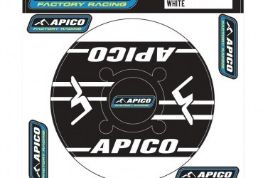 APICO TRIALS REAR SPROCKET STICKER 46T-48T BLACK