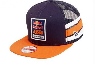 Red Bull Factory Racing Side Stripe Hat Navy