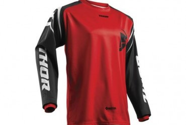 THOR SECTOR JERSEY RED