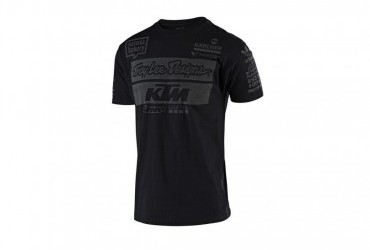 TROY LEE DESIGNS KTM TEAM 2019 T SHIRT BLACK