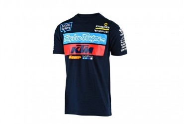 TROY LEE DESIGNS KTM TEAM 2019 T SHIRT NAVY