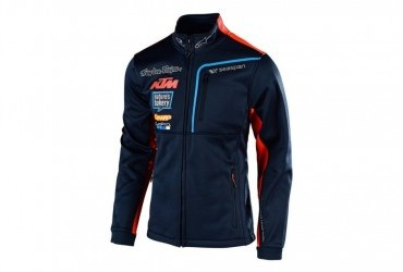 TROY LEE DESIGNS KTM TEAM 2019 PIT POLAR FLEECE NAVY