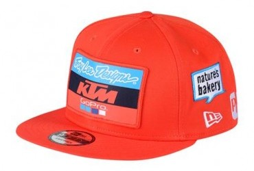 TLD TEAM HAT ORANGE