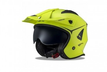 UFO Sheretan Trials/ Urban Street Helmet NEON YELLOW