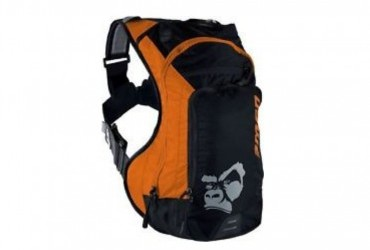 Ranger 9 Hydration Pack with 3L Elite Bladder Orange Black