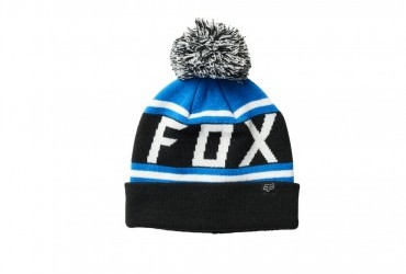 FOX THROWBACK BEANIE BLACK BLUE