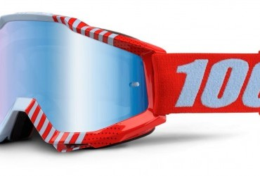 100% Accuri Goggles Cupcoy mirror lens or clear lens