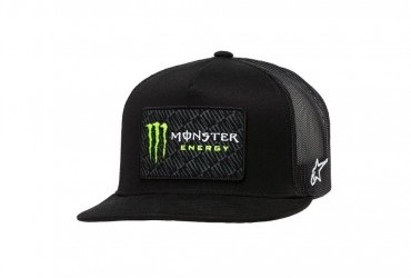 Alpinestars Monster Champ Trucker Cap Black