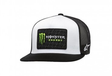 Alpinestars Monster Champ Trucker cap White/Black