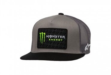 Alpinestars Monster Champ Trucker Cap Grey/Black
