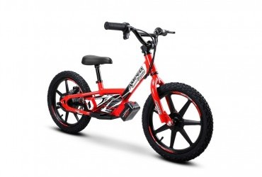 AMPED A16 ELECTRIC BALANCE BIKE RED