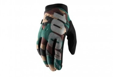 100% Youth Brisker Glove Camo XL