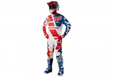 Fox Honda 180 Race Wear Pants and Jersey