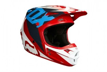 V1 HELMET RED