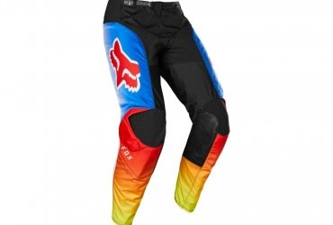 FOX 180 Fyce Pant blue/red