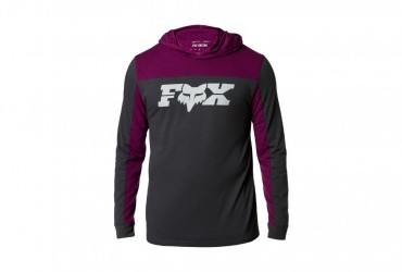 Fox General Hooded Tech Long Sleeve Tee