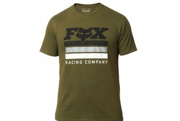 FOX Street Legal SS Airline Tee Olive green