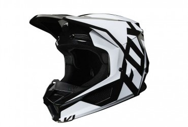 FOX V1 Prix Helmet Black lhs
