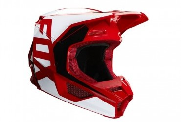FOX V1 Prix Helmet Red rhs