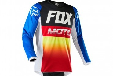 FOX Youth 180 Fyce Jersey blue/red