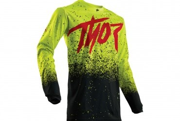 THOR PULSE HYPE FLURO YELLOW JERSEY