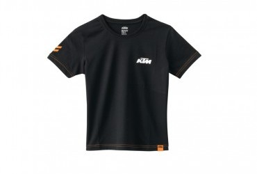 KTM Kids Racing Tee Black