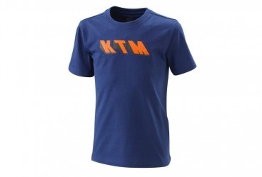 KTM 2020 Kids Radical Tee Blue