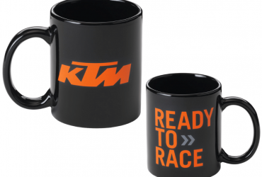 KTM MUG BLACK READY TO RACE