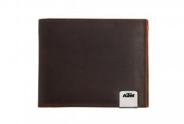 UNBOUND LEATHER WALLET FRONT.