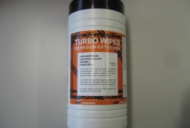 TURBO WIPES CLEAMING TOWELETTE