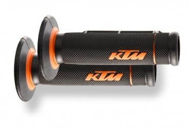 KTM Grip Set Dual Compound Open Grip Ends