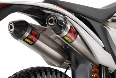 AKRAPOVIC SLIP ON SILENCER FREERIDE